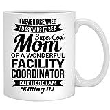 N\A Coordinatore della Tazza di caffè della coordinatrice della Mamma della Struttura per la Tazza di tè da 11 Once della Madre della Donna