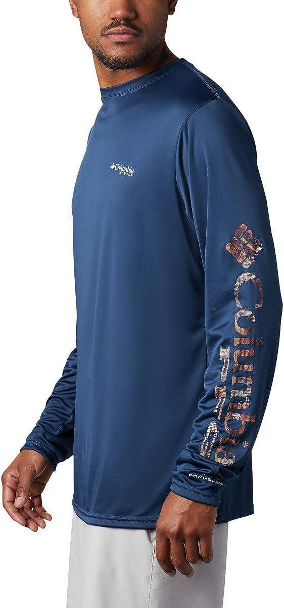 Columbia Mens Terminal Tackle PFG Sleeve LS Shirt