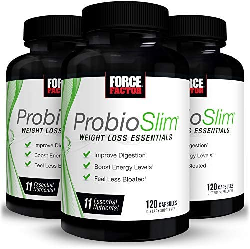 ProbioSlim Weight Loss Essentials Complete Digestive Health and Energy Boosting Probiotic Supplement product image