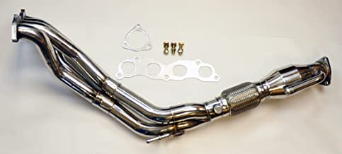 Acura RSX Type S 2002-2006 K20 Long Tube Stainless Race Manifold Header w/Downpipe