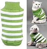 Suéter para gatos, para gatos, para invierno, mascotas, gatos, para disfraz de gato, muy elástico, cómodo para gatos pequeños, perros chihuahua Pug