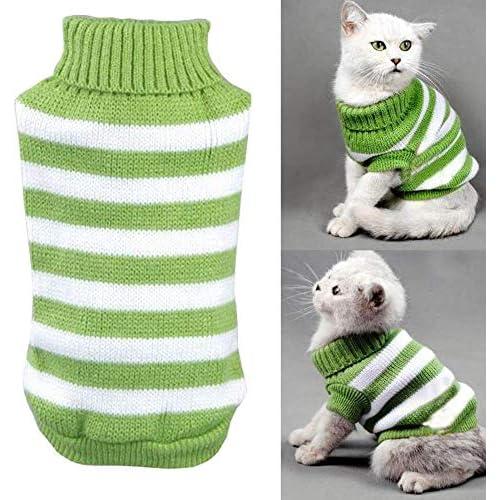 Maglione per gatti, maglione invernale, elastico e comodo per piccoli gatti, cani, chihuahua, carlini