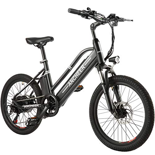 """ANCHEER Electric Bike Ebike, 20"""" Electric Bicycle with 36V 10Ah Removable Lithium-Ion Battery"""