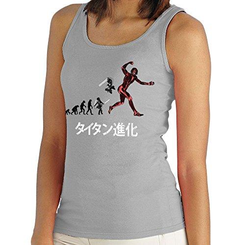 Titan Evolution Attack on Titan Eren Women's Vest