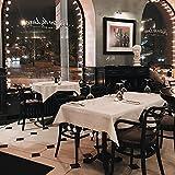 UPKOCH Tischdeckenbeschwerer Marmor Stein Tischdeckengewichte Tischtuchklammer Tischtuchhalter für Dicke Tischplatten Drinnen Draußen Garten Picknicks Party Küche Restaurant 4 Stück Weiß - 8