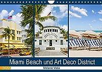 Miami Beach und Art Deco District (Wandkalender 2022 DIN A4 quer): Der Hotspot in Florida (Monatskalender, 14 Seiten )