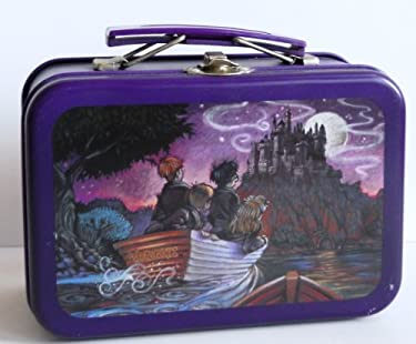 """Harry Potter Micro Lunch Box Tin """"Journey to Hogwarts"""""""