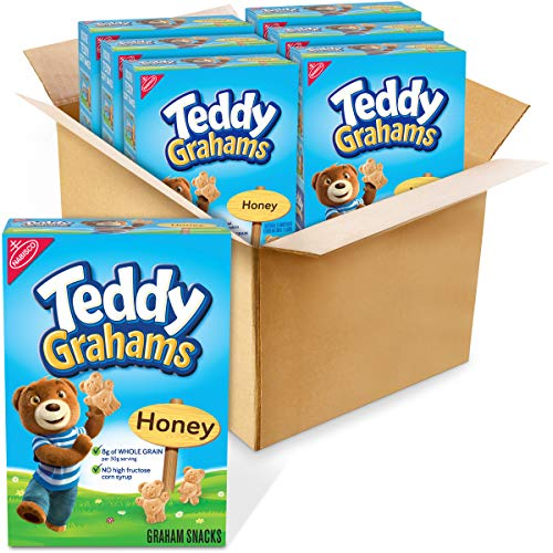 Teddy Grahams Honey Graham Snacks