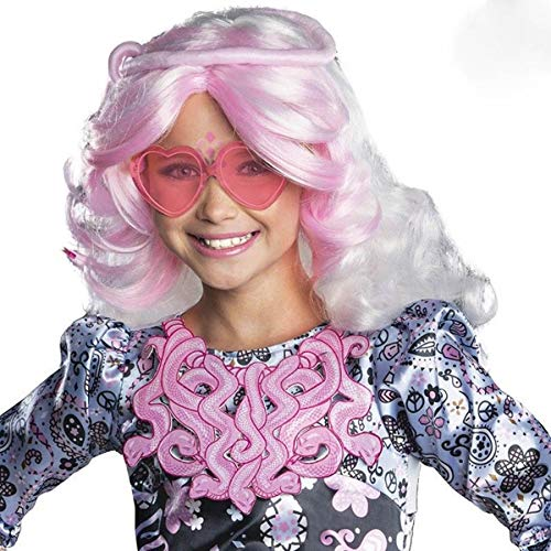 Savahe Monster High Viperine Gorgon Perücke Kinder / Karneval Fasching Hippie Party