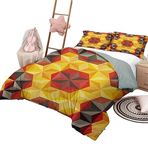 Tagesdecke Bettdecke Set Moderne Kunst Leichte Schlafzimmer Tagesdecke für alle Jahreszeiten Grunge Polka Dots Spots Hintergr&motiv Retro Nostalgisch Ästhetischer Bilddruck Multicolor