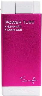 Mipow SPM-04-PK 5200 mAh Simple Power Tube for Samsung, Pink