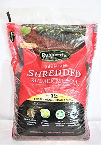 Mulch  Rubber Mulch, Redwood - RUBBERIFIC RM16RW