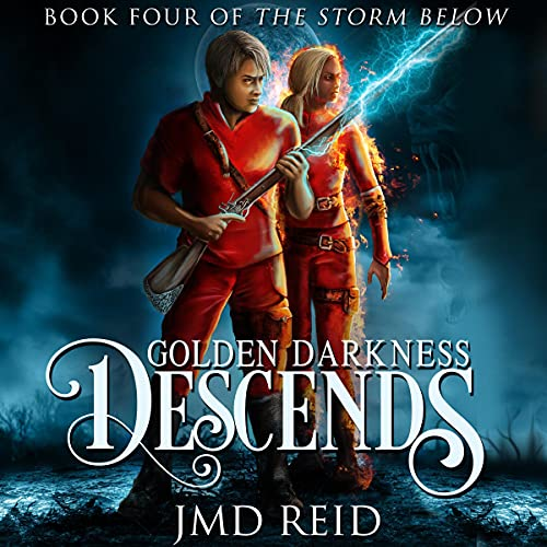 Golden Darkness Descends Audiobook By JMD Reid cover art