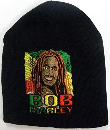 Bob Marley Bonnet en laine pour homme - - Taille Unique