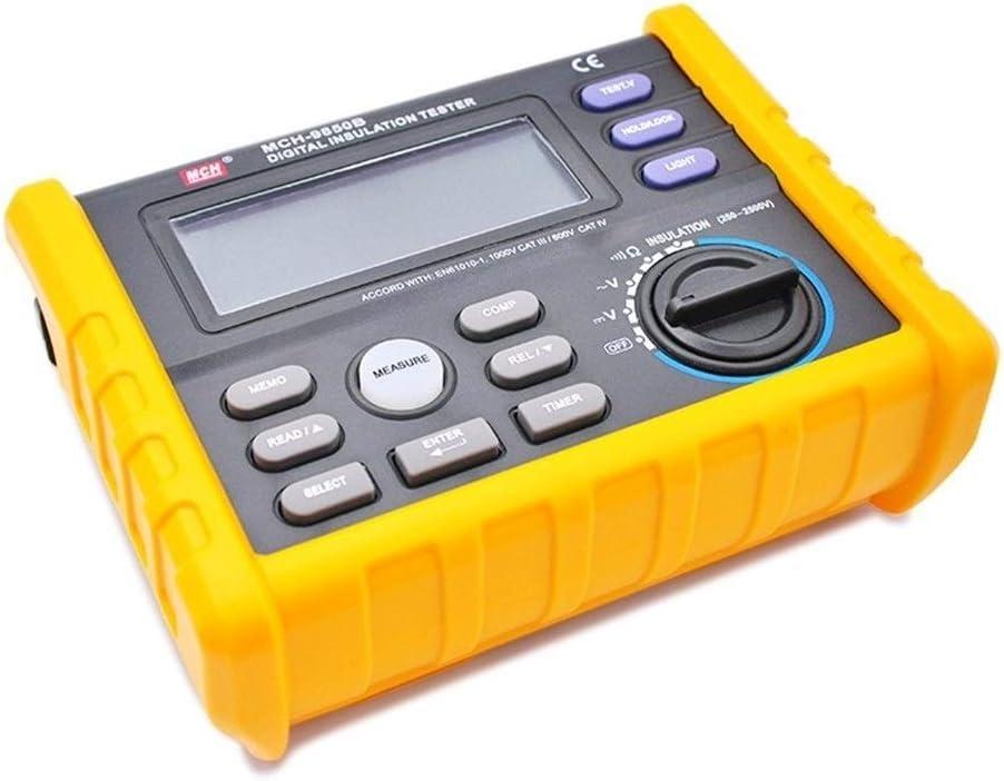 Precise Insulation Resistance Tester H Large discharge sale Megohmmeter 1000V Columbus Mall Digital