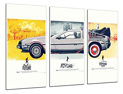 Cuadros Camara Fotográfico Regreso Al Futuro, Cine Tamaño total: 97 x 62 cm XXL, Multicolor