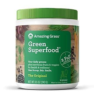 Amazing Grass Green Superfood: Super Greens Powder with Spirulina, Chlorella, Digestive Enzymes & Probiotics, Original, 30 Servings (B00112ILZM)   Amazon price tracker / tracking, Amazon price history charts, Amazon price watches, Amazon price drop alerts