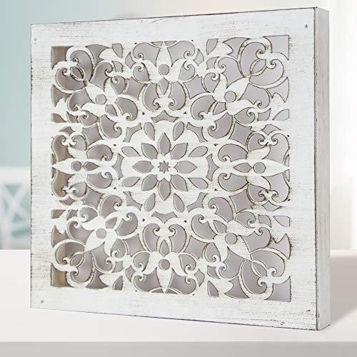 Cuadro Mandala de Pared Calada, Fabricada artesanalmente en España- Mandala 3D...