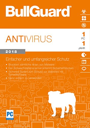 BullGuard Anti Virus 2018 PC [Import allemand]