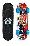Mini Skateboard 17' Pat Patrouille - Deck Antidérapant - Léger et Transportable -...