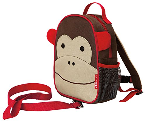 Skip Hop Toddler Leash and Harness Backpack, Monkey