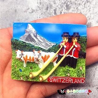 e : France Switzerland Germany Tourism Scenery Fridge Magnets Fridge Magnet Souvenir Home Decor Accessories