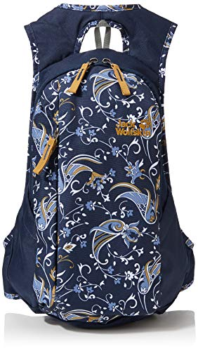 Jack Wolfskin Damen Ancona bequemer Daypack, Midnight Blue All Over, ONE Size