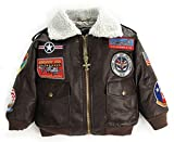 Up and Away Boys' A-2 Bomber Jacket 12...