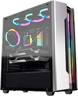 COUGAR Gaming Gemini S Midi-Tower Plata - Caja de Ordenador (Midi-Tower, PC, Metal, Vidrio Templado, Plata, ATX,CEB,EATX,Micro ATX,Mini-ATX, Juego)