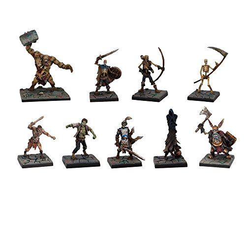 Mantic Games MGDS12 Miniatures Play Set, Multicolor