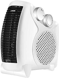 SADDPA Estufa Eléctrica Calefactor Mini Portátil Heater 500W Bajo Consumo Temperatura Regulable Baño Casa Oficina