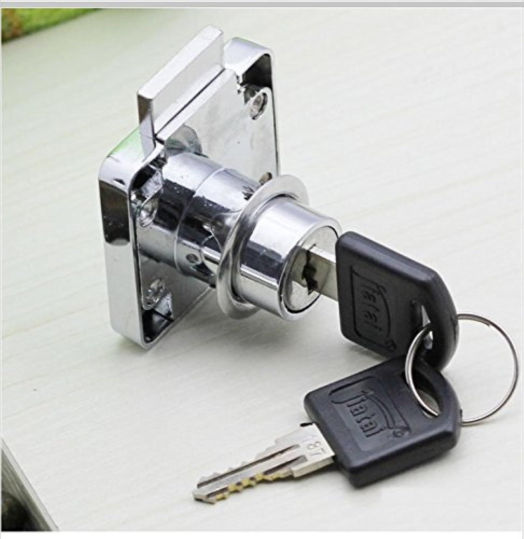 5PCS LOT Furniture Hardware Drawer Cabinet Lock Door Lock(2 Keys)