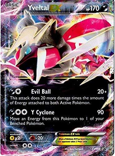 Pokemon Card Yveltal EX - XY150