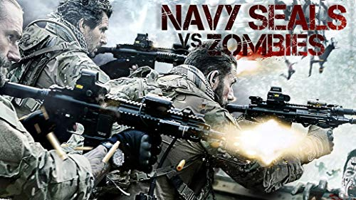 Navy Seals vs Zombies Movie | 25inch x 14inch | Silk Printing Poster 001
