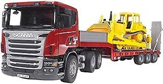 Bruder 3555 Scania R-Series Low Loader Truck