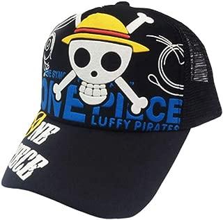 Anime One Piece Hat Baseball Cap Naruto Mesh Cap Cosplay Caps Hip Hop Snapback Hats