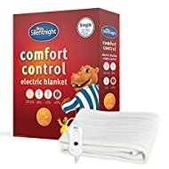 SLEEP SAFE: Safety is Silentnight number 1 priority. Silentnight blankets are purposely made to leave a little room around the edges once fitted to ensure the blanket remains flat. Overheat protection is guaranteed SINGLE: Standard size 65 x 135 cm (...