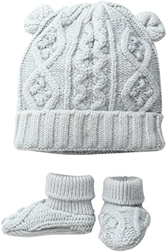 Toby amp Company Baby Nygb Cable Knit Hat amp Booties Set