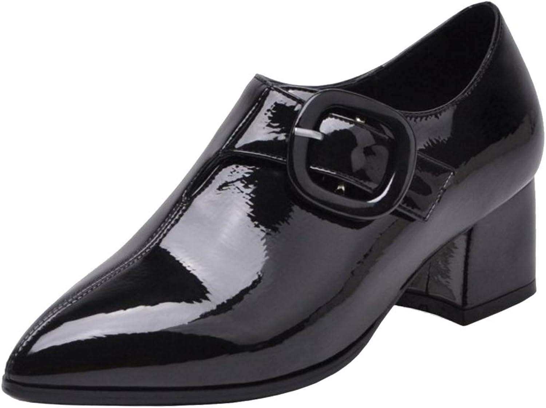 Melady Women Fashion Brogue shoes Slip On
