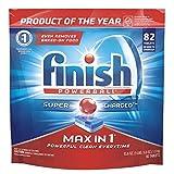Finish - Max in 1 - 82ct - Dishwasher Detergent - Powerball -...