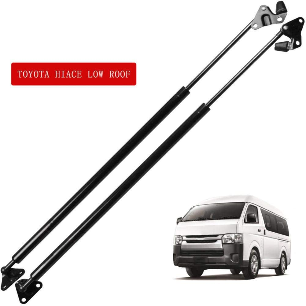 LYSHUI 2Pcs Car Tailgate Boot Gas Lift Support Gas Struts Spring,For Toyota Hiace Low Roof 640mm
