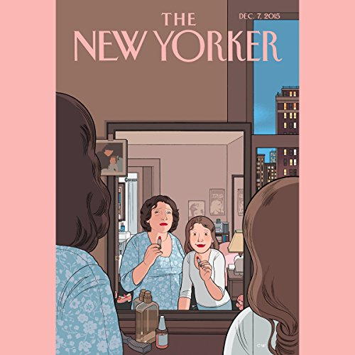 Couverture de The New Yorker, December 7th 2015 (Rachel Aviv, Emily Eakin, Emily Nussbaum)