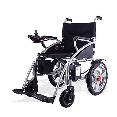Piezas mecánicas Plegable Ligero Carry Silla de ruedas eléctrica Portátil Power Compact Aid Wheel Chair Scooter médico Caja fuerte inteligente para ancianos Discapacitados Silla de ruedas eléctrica