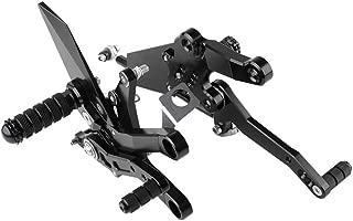 1 Pair Cnc Aluminum Motorcycle Footrest Footpeg Pedal Foot Peg Rearset Rear Set For Kawasaki Ninja 400