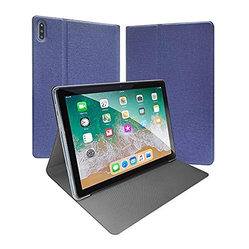 ZONMAI MX2 Tablet 10.1 Pulgadas Android 10.0 | Tableta 5G WiFi Ultrar-Rápido Quad-Core 1.6GHz 4GB RAM + 64GB ROM | 8000mAh Bluetooth 5.0 GPS Type-C Google GMS Teclado y Ratón - Azul