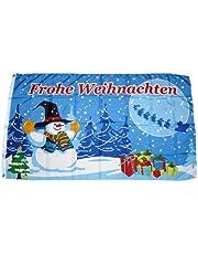 FahnenMax–Bandera de Navidad Regalos 90x 150cm