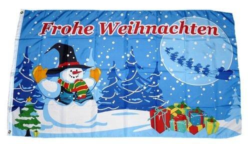 Fahne/Flagge Weihnachten Geschenke 90 x 150 cm