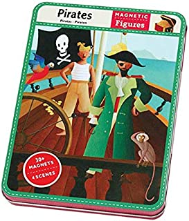 Mudpuppy Pirates Magnetic Figures