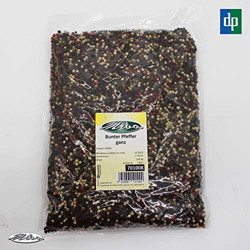 1kg Bunter Pfeffer Pfefferkörner Pepper Korn Ganz gemischt