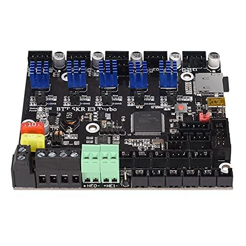 Aibecy Upgrade SKR E3 Turbo Control Board, Integrierte TMC2209 UART 3D-Druckerteile Motherboard-kompatibel BIGTREETECH TFT Series Display / 12864LCD für Creality Ender 3 3D-Drucker